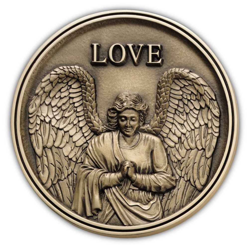 Angel Medallion