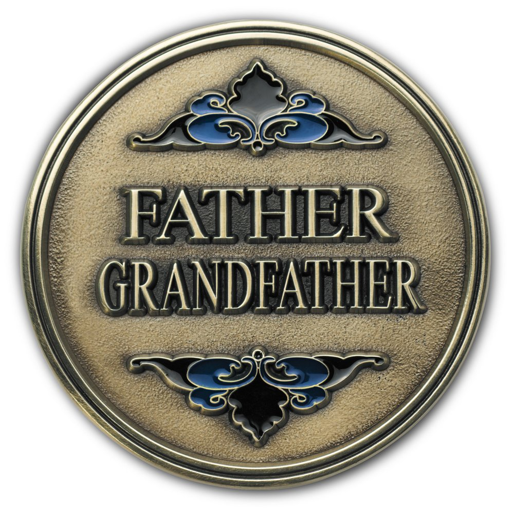 Father Grandfather Medallion
