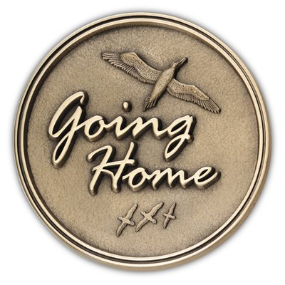 Going Home Medallion