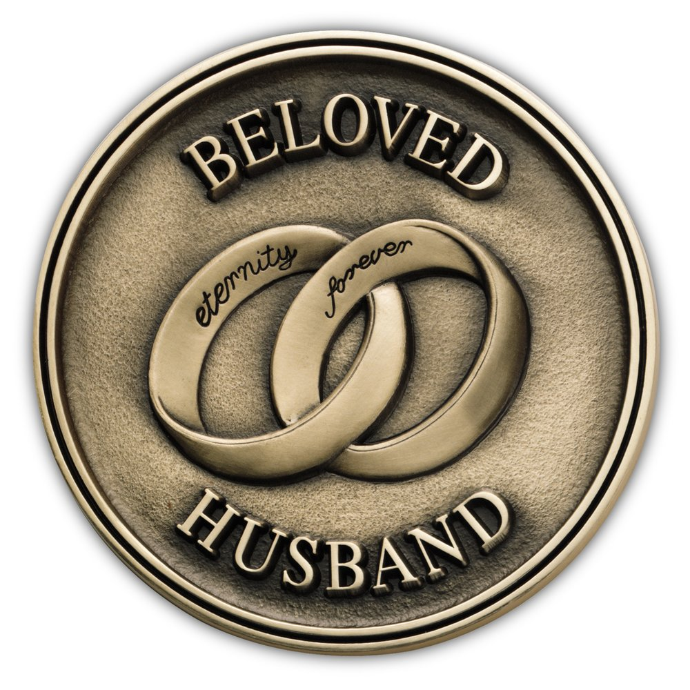 Beloved Husband Medallion