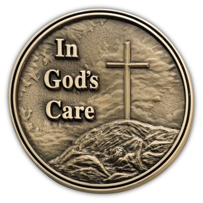 In God's Care Medallion