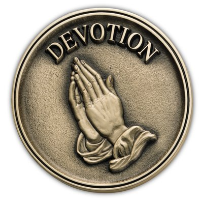Praying Hands Medallion