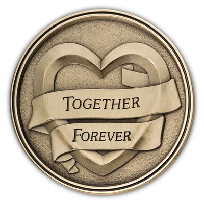 Together Forever Medallion