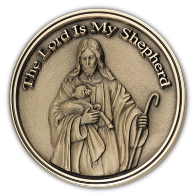 The Lord is my Shepheard Medallion
