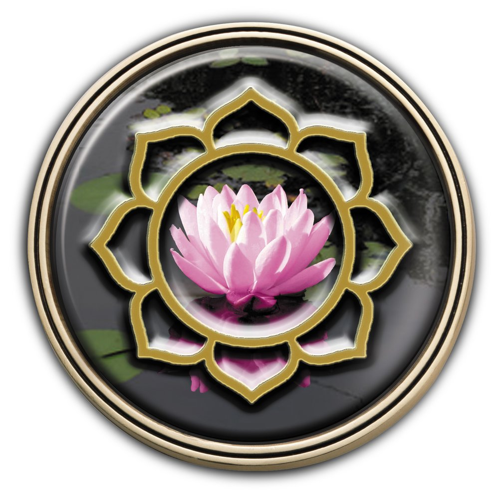Lotus Flower Medallion