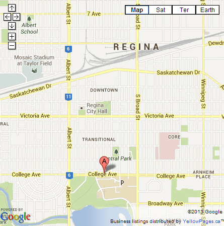 Directions to Speers in Regina Speers Funeral and Cremation Services