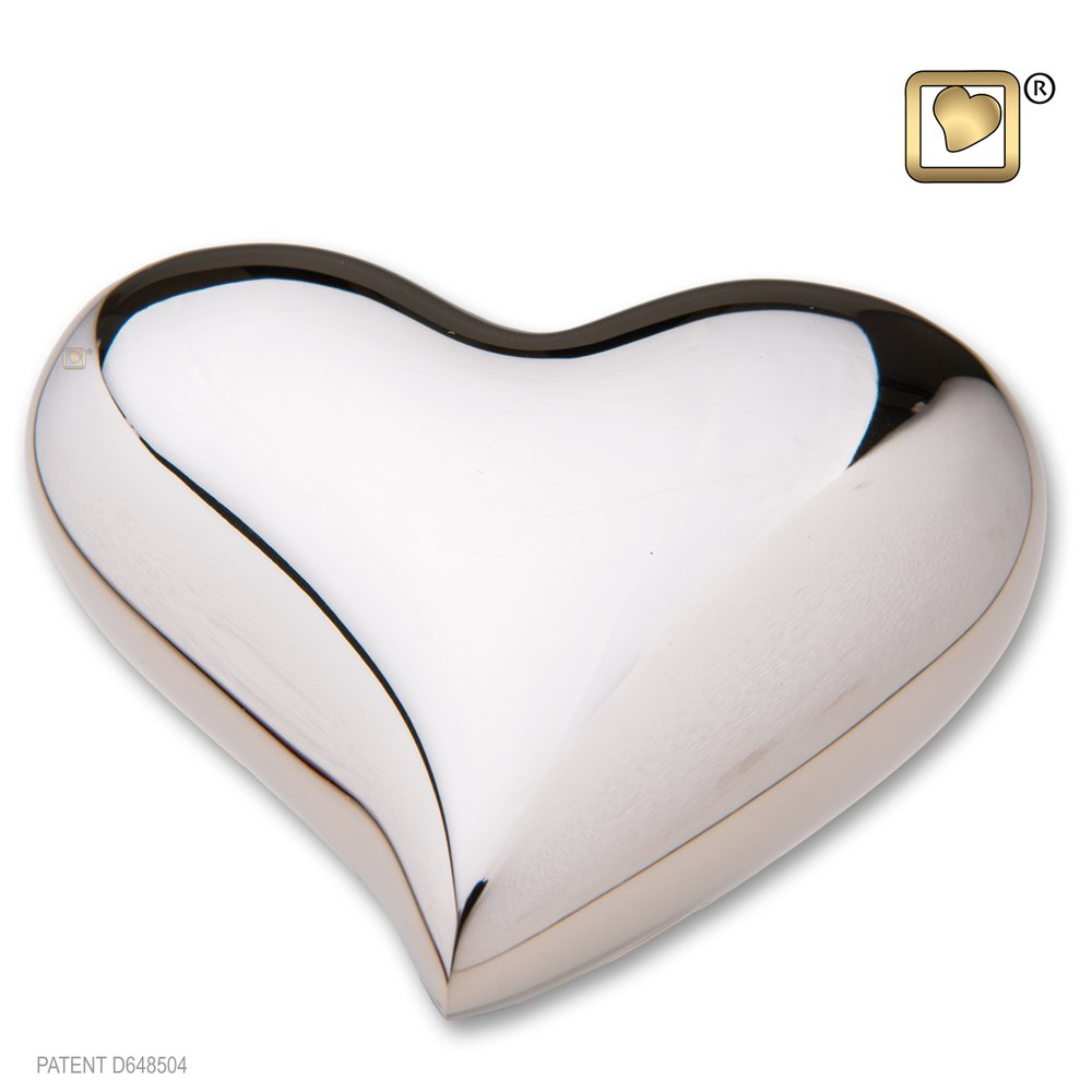 Bright Silver (Keepsake Heart)